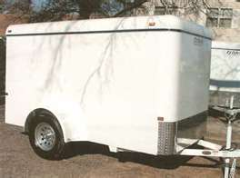 Where to find ENCLOSED TRAILER 6 X10 in Ada