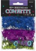 Where to rent CONFETTI, VALUE PACK 40TH BIRTHDAY in Ada OK