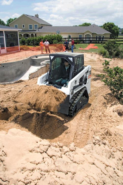Where to find FRONT LOADER TRACKS, 41 HP BOBCAT T110 in Ada