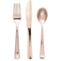 Where to rent FLATWARE, ROSE GOLD SENSATIONS AST in Ada OK