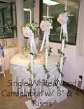 Where to rent WHITE WOOD SINGLE CANDELABRA in Ada OK