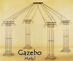 Where to find METAL GAZEBO in Ada